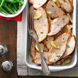 Herbed Turkey Breasts Recipe