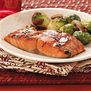 Hoisin Salmon Fillets Recipe