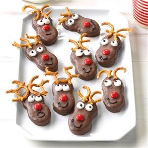 Holiday Reindeer Cookies Recipe