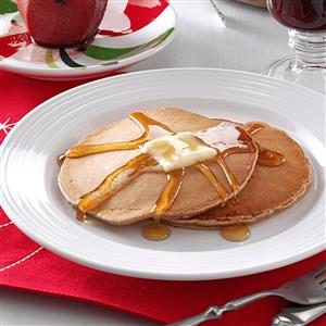 Holiday Spice Pancakes Recipe