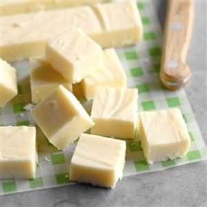 Holiday White Chocolate Fudge Recipe