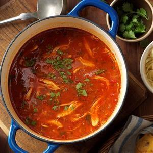 Homemade Chicken Tortilla Soup Recipe