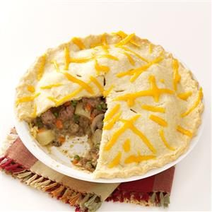 Hometown Pasty Pies Recipe