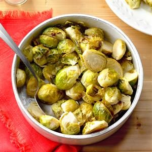 Honey-Garlic Brussels Sprouts Recipe