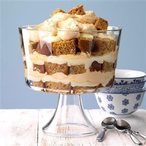Honey Gingerbread Trifle Recipe
