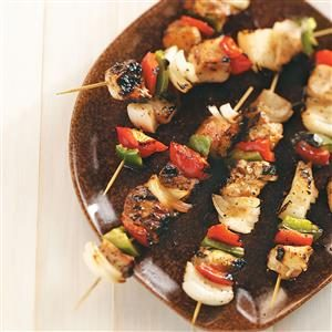 Honey-Glazed Chicken Kabobs Recipe