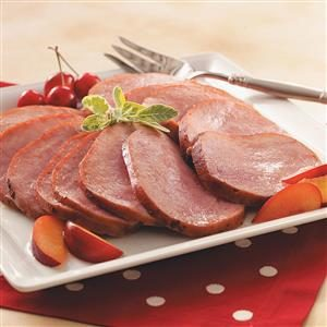 Honey-Glazed Ham Recipe
