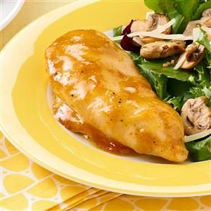 Honey-Mustard Apricot Chicken Recipe