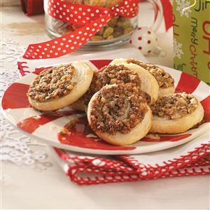 Honey-Nut Swirls Recipe
