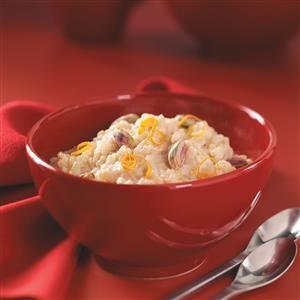 Honey-Orange Rice Pudding Recipe