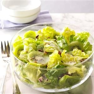 Honey-Pecan Kiwi Salad Recipe