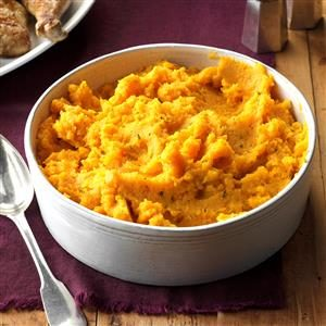 Honey-Thyme Butternut Squash Recipe photo by Taste of Home