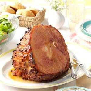 Horseradish-Glazed Ham Recipe
