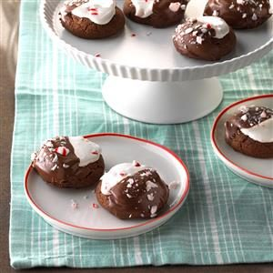 Hot Chocolate Peppermint Cookies Recipe