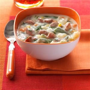 Hot Dog Chowder Recipe