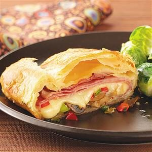 Hot Ham & Cheese Slices Recipe