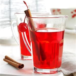 Hot Spiced Cherry Cider Recipe