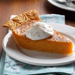 Hubbard Squash Pie Recipe