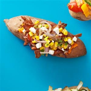 Hungry Man's Baked Potatoes Recipe