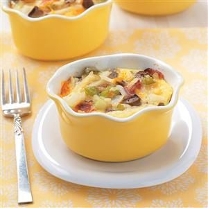 Individual Brunch Casseroles