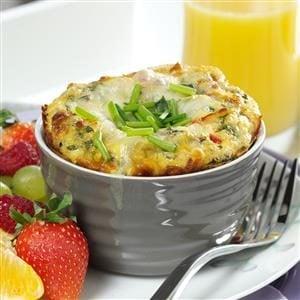 Individual Italian Frittatas Recipe