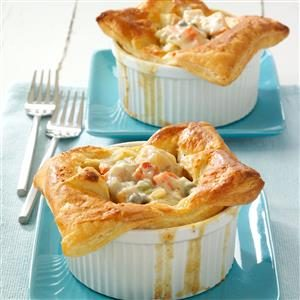 Individual Turkey Potpies Recipe