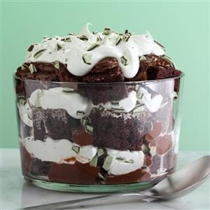 Irish Creme Chocolate Trifle