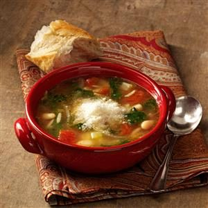 Italian Bean Soup Recipe