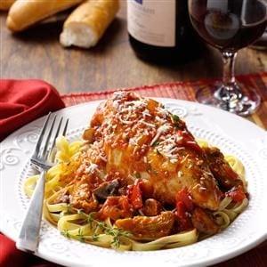 Italian Chicken Chardonnay Recipe