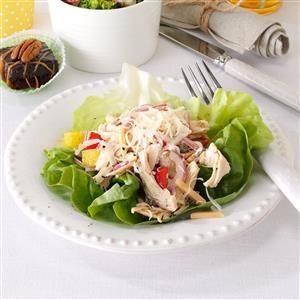 Italian Chicken Salad Cups Recipe