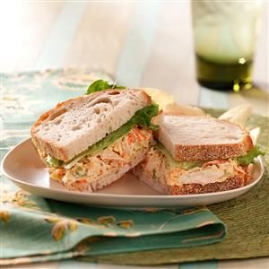 Italian Chicken Salad Sandwiches Recipe
