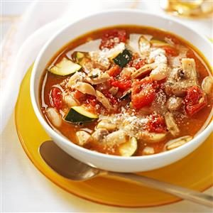 Italian Chicken Sausage Soup
