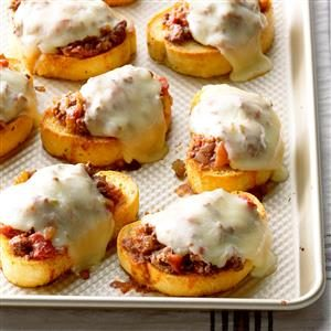 Italian Joes on Texas Toast Recipe