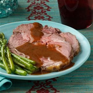 Italian Leg of Lamb with Lemon Sauce Recipe