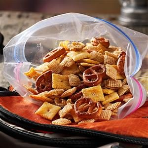 Italian Parmesan Snack Mix Recipe