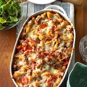 Italian Pasta Bake Recipe Taste Of Home
