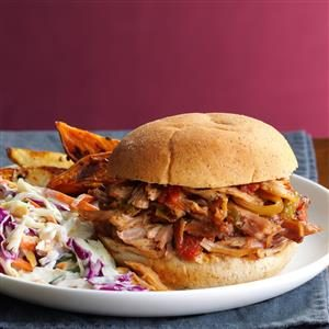 Italian Pulled Pork Sandwiches Recipe