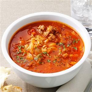 Italian Sausage & Bean Soup Recipe