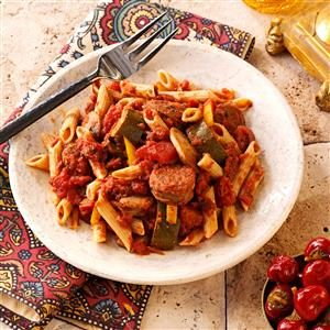 Italian Sausage Marinara with Penne Recipe