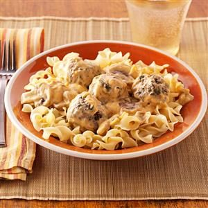 Taste of home pork stroganoff recipe