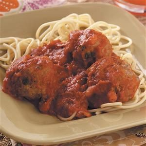 Italian-Style Spaghetti with Meatballs Recipe