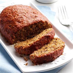 Italian Turkey Meat Loaf Recipe