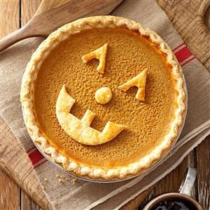 Jack-o'-Lantern Pie Recipe