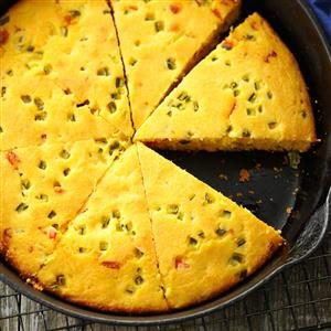Jalapeno Buttermilk Corn Bread Recipe