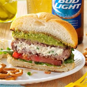 Jalapeno Popper Burgers Recipe