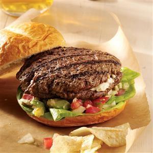Jalapeno Popper Mega Burgers Recipe