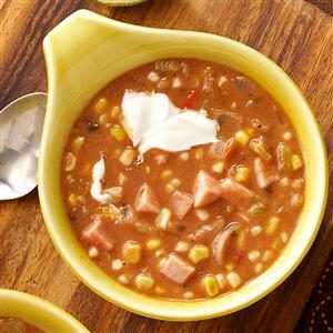 Jamaican Ham and Bean Soup Recipe