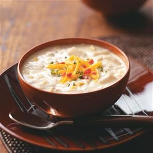 Jazzed-Up Clam Chowder Recipe