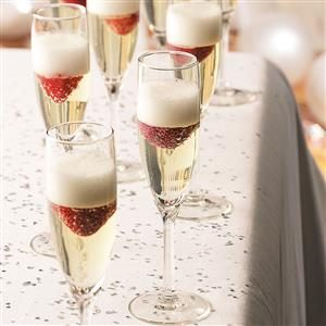 Jellied Champagne Dessert Recipe