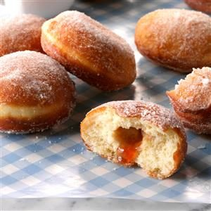 Jelly Doughnuts Recipe
